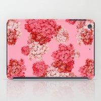 hydrangea (doubled) iPad Case