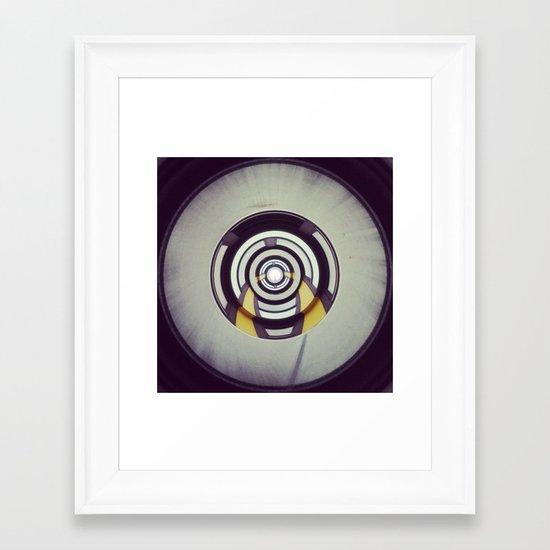 plastique Framed Art Print