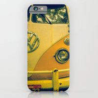 iPhone & iPod Case featuring yellow_kombi by Lucas Zappa