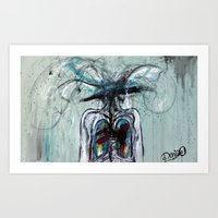 I'll Love You Till My Ve… Art Print
