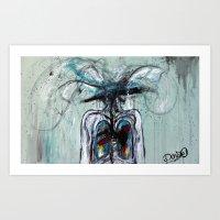 I'll Love You Till My Ve… Art Print