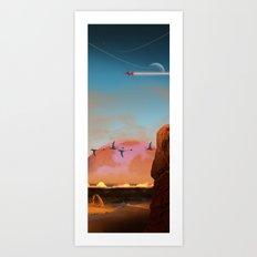 NMW-0327 Art Print