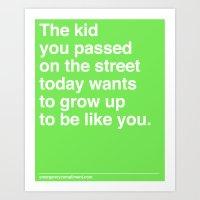 That Kid Art Print