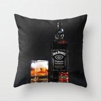 On Ice Throw Pillow
