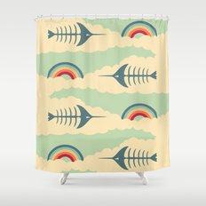 bittersweet pattern Shower Curtain