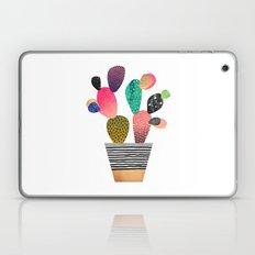 Happy Cactus Laptop & iPad Skin