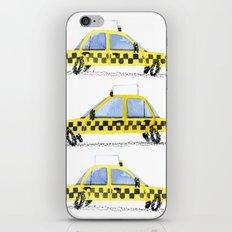 Taxis! iPhone & iPod Skin