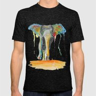 Paco Mens Fitted Tee Tri-Black SMALL