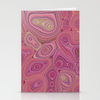 Mineralicious-Pink Agate Stationery Cards