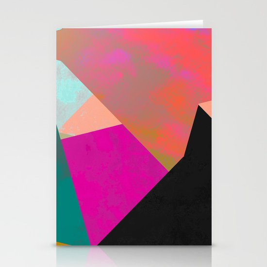 Abstract 04 Stationery Card