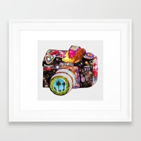 Framed Art Print featuring Picture This by Bianca Green