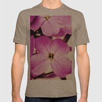 Potent Purple Mens Fitted Tee Tri-Coffee SMALL