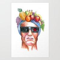Ay Ay Ay! Hasta La Vista… Art Print