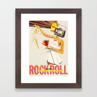 Sell Your Soul To Rock N… Framed Art Print