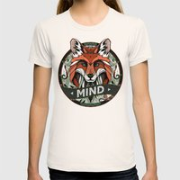 Mind Womens Fitted Tee Natural SMALL