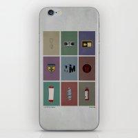 Fringe (colors) iPhone & iPod Skin