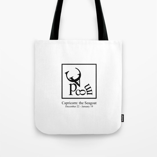 Capricorn: the Seagoat Tote Bag