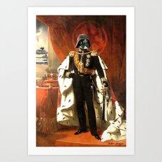 King Vader Art Print