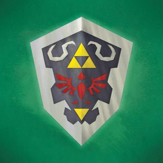 Hylian Shield Art Print