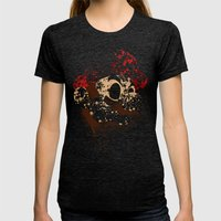The Red Knight Womens Fitted Tee Tri-Black SMALL