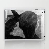 Laptop & iPad Skin featuring Psycho Shower Curtain by Paul Kimble