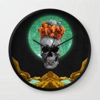 Spiritual Skull Of The G… Wall Clock