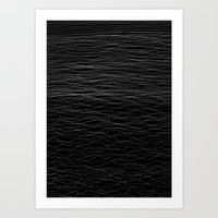 wave Art Prints featuring Wave by Georgiana Paraschiv