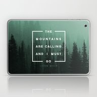 Laptop & iPad Skin featuring The Mountains Are Callin… by Zeke Tucker