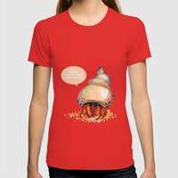 Truth Be Told Womens Fitted Tee Red SMALL