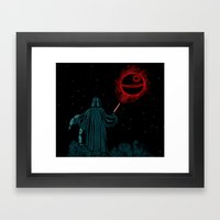 The Darth Lord Framed Art Print