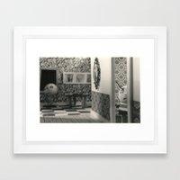 Hanging a painting fail - tim burton Framed Art Print