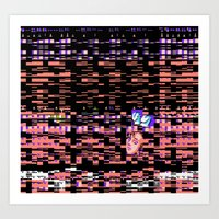 Static XXX Art Print