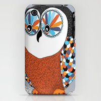 iPhone 3Gs & iPhone 3G Cases featuring Beautiful Owl by Amy Gale