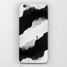 White Isolation iPhone & iPod Skin