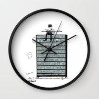 LITTLE DREAMS, BIG BOOKC… Wall Clock