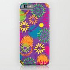 Spikeyflower Purple iPhone 6 Slim Case