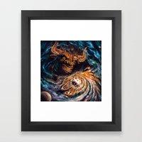 Milking The Stars - Mons… Framed Art Print