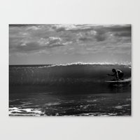Surf Crab Canvas Print