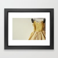 Doll Closet Series - Mus… Framed Art Print