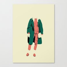 pink&green Canvas Print