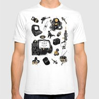 Artifacts: Fallout Mens Fitted Tee White SMALL