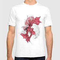 Bubblegum Parody Mens Fitted Tee White SMALL