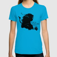 Our Fate Lives Within Us Womens Fitted Tee Teal SMALL