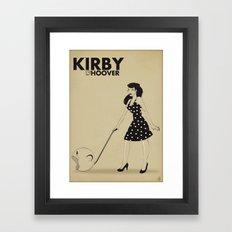 Kirby Hoover Framed Art Print