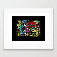 La Bonne Reucette Framed Art Print