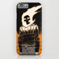 iPhone & iPod Case featuring the rider by motorbot