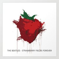 Strawberry Fields Foreve… Art Print