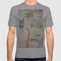 Direction System For (th… Mens Fitted Tee Athletic Grey SMALL