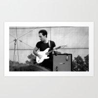 Junior - The Strokes Art Print