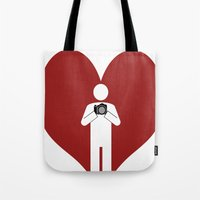 T-Shirt I Love Photograp… Tote Bag